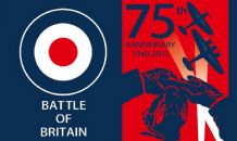 BATTLE OF BRITAIN 75TH ANNIVERSARY - 5 X 3 FLAG